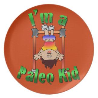 Paleo Kid Dinner Plate