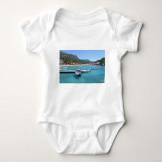 Paleokastritsa Beach, Corfu Baby Bodysuit