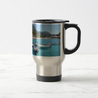 Paleokastritsa Beach, Corfu Travel Mug