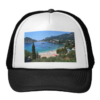 Paleokastritsa Greece Mesh Hat