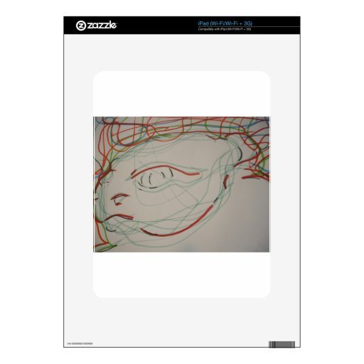 Paleolithic Lives Lines Skin For The iPad