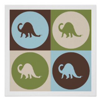 Paleontología del arte pop impresiones