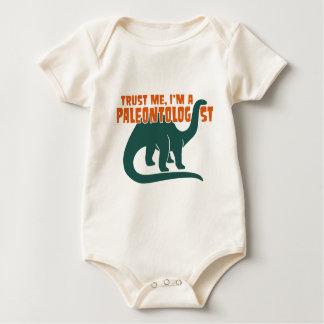 Paleontologist Baby Bodysuit