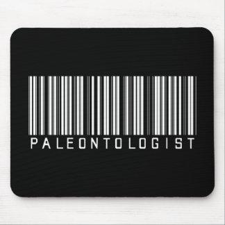 Paleontologist Bar Code Mouse Pad