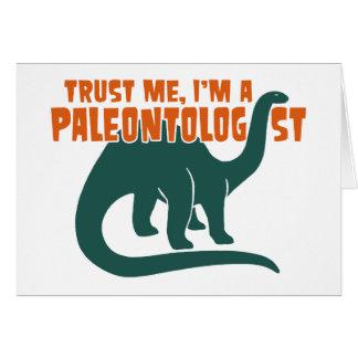 Paleontologist Cards