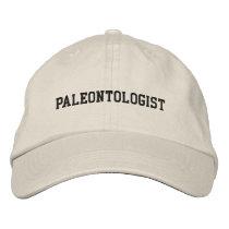 Paleontologist Embroidered Hat