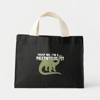 Paleontologist Mini Tote Bag