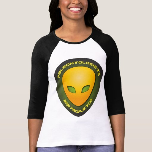 Paleontologists Are People Too Shirt