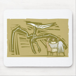 Paleontologists Pterodactyl Fossil Mouse Pad