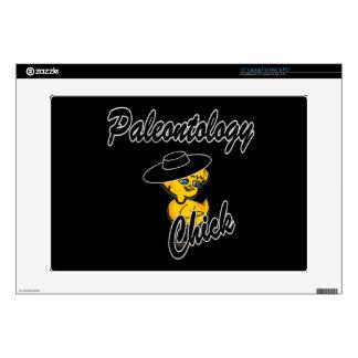 "Paleontology Chick #4 15"" Laptop Decals"