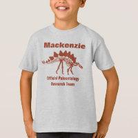 Paleontology Dinosaur Fun T-Shirt