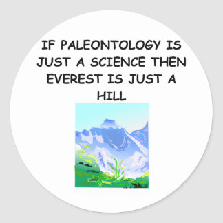 PALEOntology joke Stickers