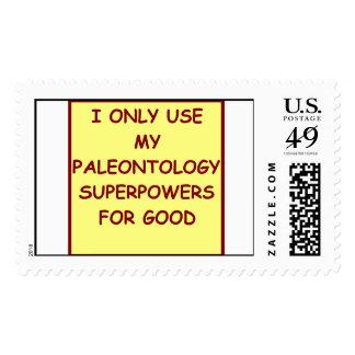 paleontology paleontologist stamp