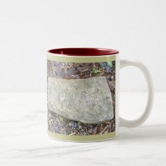 Paleontology Rocks! Two-Tone Coffee Mug