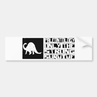 Paleontology Survive Bumper Stickers