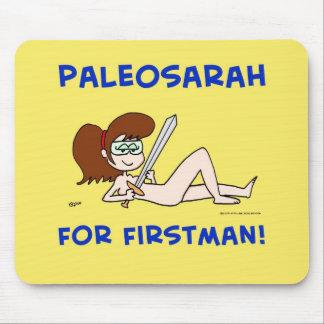 PALEOSARAH FOR FIRSTMAN SARAH PALIN MOUSE PAD