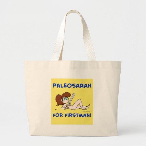 PALEOSARAH PARA FIRSTMAN SARAH PALIN BOLSA TELA GRANDE