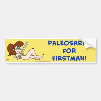PALEOSARAH PARA FIRSTMAN SARAH PALIN PEGATINA PARA AUTO