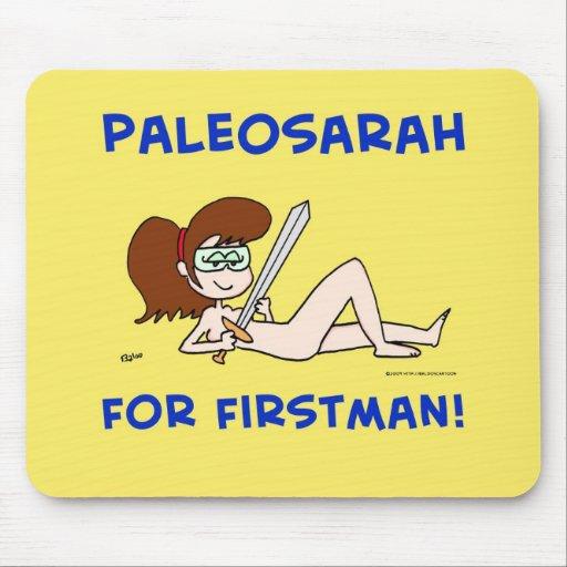 PALEOSARAH PARA FIRSTMAN SARAH PALIN ALFOMBRILLA DE RATON
