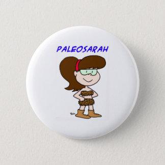 PALEOSARAH SARAH PALIN PINBACK BUTTON