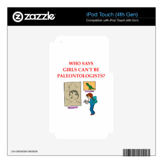 paleotologyn iPod touch 4G decal