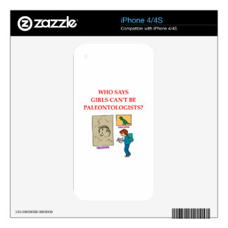paleotologyn skin for iPhone 4S