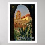 Palermo (border) print