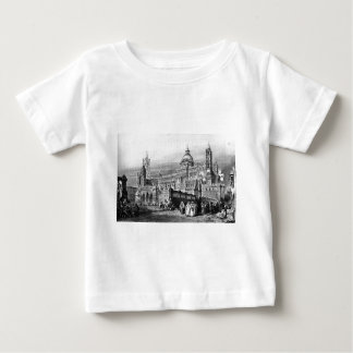 Palermo cathedral, drawing by Leitch, engraving Baby T-Shirt