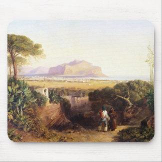 Palermo, Sicilia, 1847 (aceite en lona) Alfombrilla De Ratón