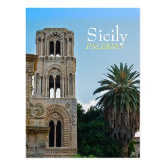 Palermo, Sicilia Tarjeta Postal