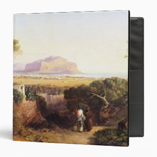 Palermo, Sicily, 1847 (oil on canvas) 3 Ring Binder