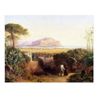 Palermo, Sicily, 1847 (oil on canvas) Postcards