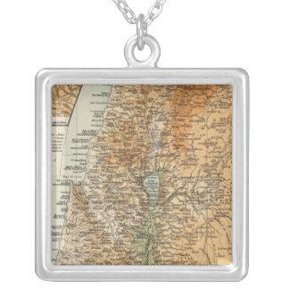 Palestina 3 colgante cuadrado