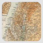 Palestina 3 pegatina cuadrada