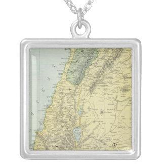 Palestina 4 colgante cuadrado