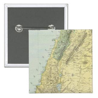 Palestina 4 pin cuadrada 5 cm