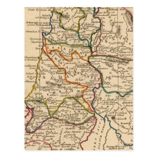 Palestina 5 tarjetas postales