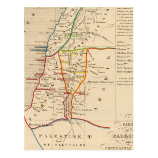 Palestina Constantino sous le Grand, 330 apres JC Postal