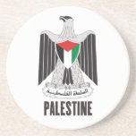 PALESTINA - emblema/bandera/escudo de armas/símbol Posavasos Diseño
