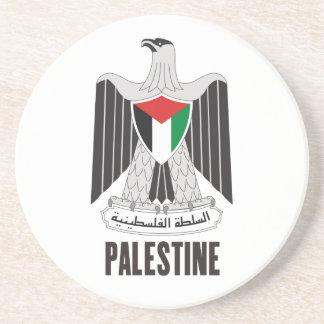PALESTINA - emblema/bandera/escudo de armas/símbol Posavasos Manualidades