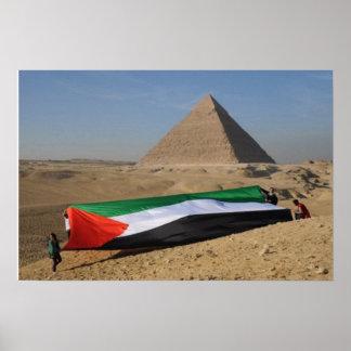 Palestina en Egipto Poster