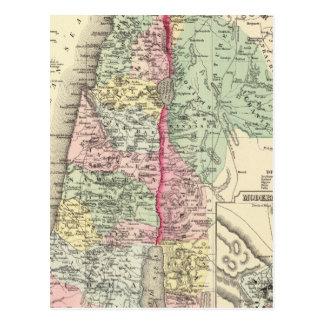 Palestina histórica postal
