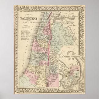 Palestina, Jerusalén Poster