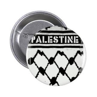 Palestina Keffiyah Pin Redondo 5 Cm
