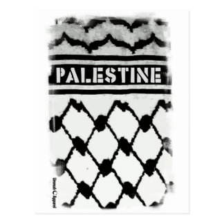 Palestina Keffiyah Tarjetas Postales