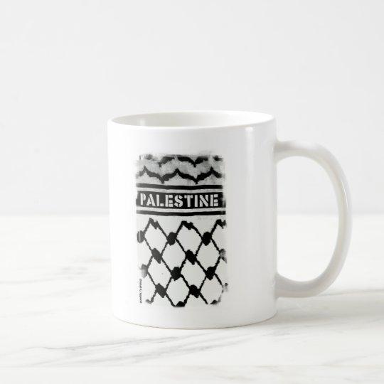 Palestina Keffiyah Taza De Café