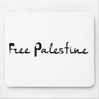 Palestina libre - فلسطينعلم - bandera palestina alfombrillas de raton