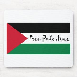 Palestina libre - فلسطينعلم - bandera palestina mousepads