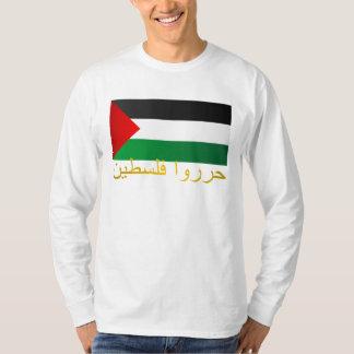 Palestina libre (árabe) camisas