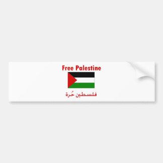 Palestina libre pegatina para auto